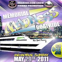 MEMORIAL MADNESS BOAT RIDE