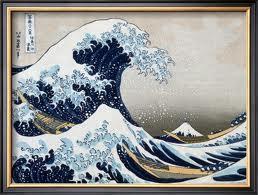 Artful Dining: The Masters!  Japanese artist, Hokusai....