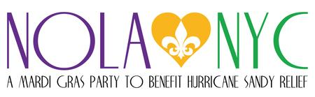 NOLA loves NYC: A Mardi Gras Party to Benefit...
