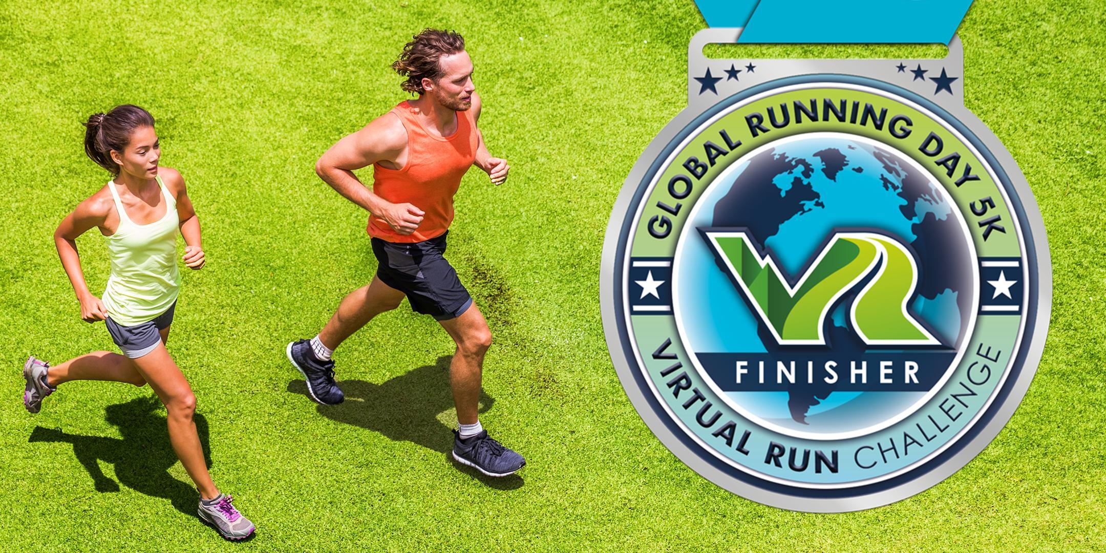 2020 Global Running Day Free Virtual 5k - Evansville
