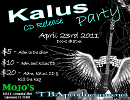 04.23.11 TBAproductions Monthly Metal / KALUS CD...