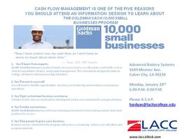 Goldman Sachs 10,000 Small Businesses Program...