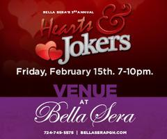 3rd Annual Hearts & Jokers Comedy/Dinner Show