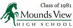Mounds View HS Class of 1981-30th Reunion