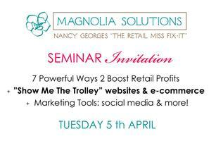 Seminars: Profit Boosters + Website & Ecommerce +...