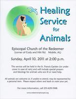 Healing Service for Animals