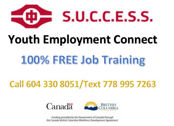 Free Online Job Training Program for 17-29 years old job seekers