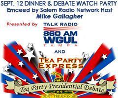 Tea Party Express & Talk Radio 860 AM WGUL present...