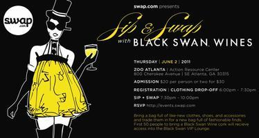Atlanta Sip & Swap with Black Swan Wine