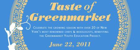 Taste of Greenmarket 2011