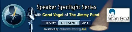 Speaker Spotlight Series: Coral Vogel from The Jimmy...