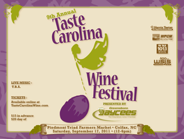 9th Annual Taste Carolina Wine Festival
