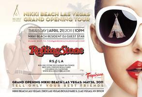 Grand Opening Party Tour: Rolling Stone Lounge