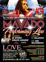 MAVADO LIVE @ LOVE NIGHTCLUB APRIL 27, 2013