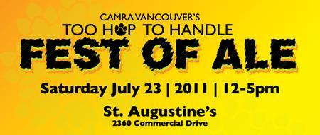 CAMRA Vancouver's Fest Of Ale - Too Hop To Handle