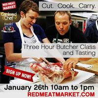 Hands-on 3hr Butcher Class and Chef Demo!