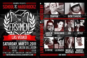 SCHOOL OF HARD ROCKZ: THE FRSHMEN! - LAS VEGAS!