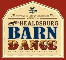 Healdsburg Barn Dance