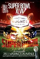 Super Bowl Sunday at Hughes Hangar Ft. Mardigras