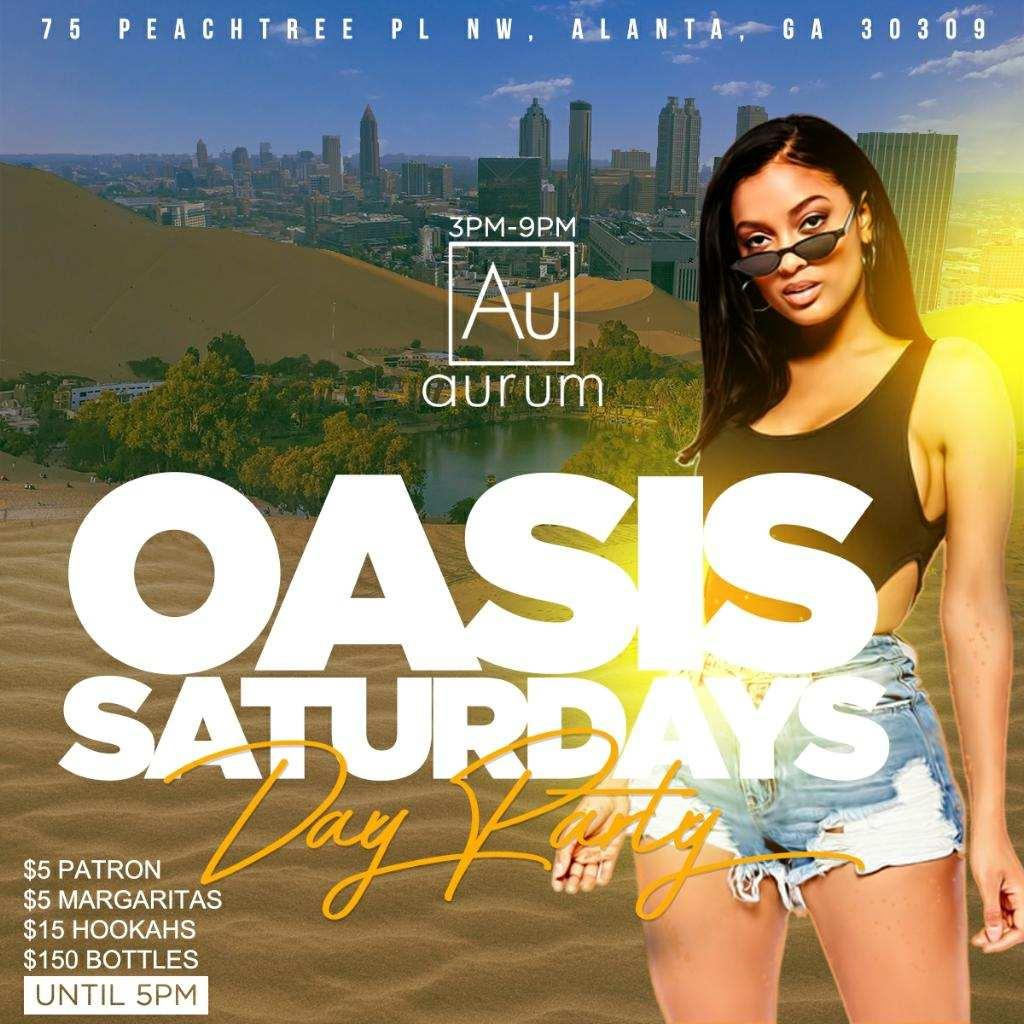 THE OASIS ATL (DAY PARTY)