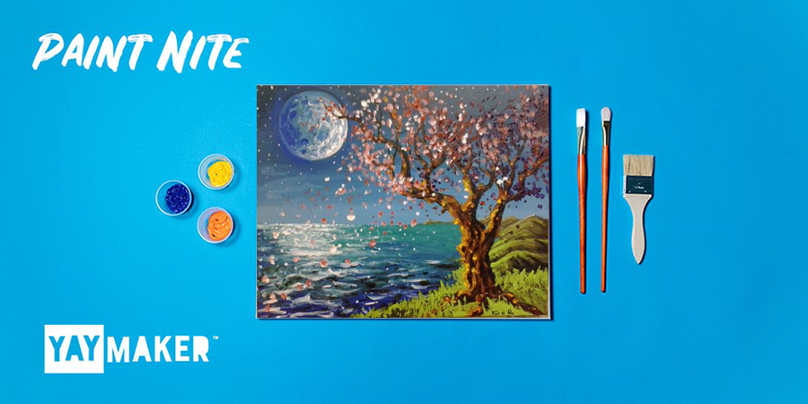 Virtual: Paint Nite: The Original Paint and Sip Party