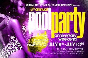 Queen City Divas-Mother Chapter 8th Anniversary Pool...
