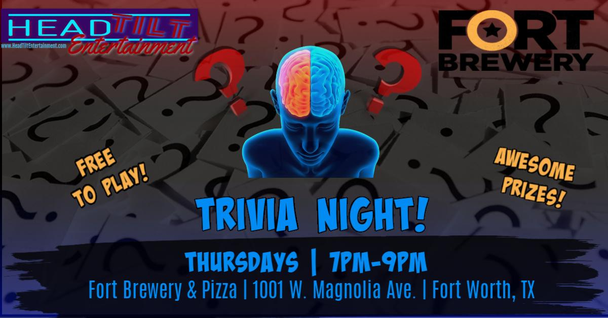 Trivia Night at Fort Brewery & Pizza- Fort Worth