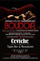 Boudoir 2013 - Sexy Burlesque & Dinner Show