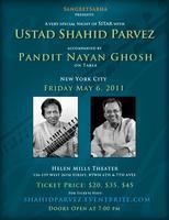 SangeetSabha presents A SITAR concert featuring USTAD...
