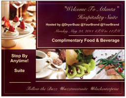 """Create Buzz with the """"Welcome To Atlanta"""" Hospitality..."""