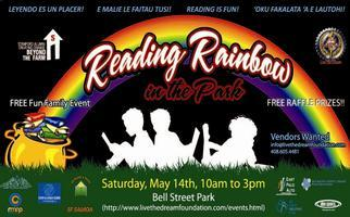 Reading Rainbow in the Park