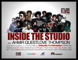 INSIDE THE STUDIO with QUESTLOVE