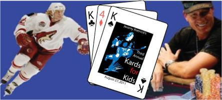 Third Annual Kards for Kids - TICKETS AVAILABLE AT THE...