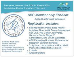 ABC FAMinar: Live Your Dreams, Say I Do in Puerto Rico