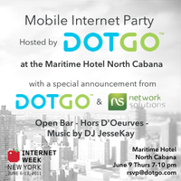 IWNY Mobile Internet Party - Hosted by DOTGO