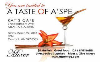 """A Taste of ASPE"" Wine tasting / Party"