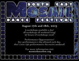 South East Mosaic Dance Festival - Vendors Fees