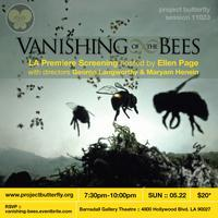 Vanishing of the Bees Film Screening hosted by Ellen...