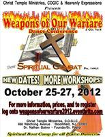 Register at weaponsofourwarfare2012.eventbrite.com