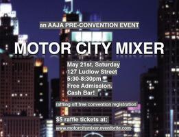 MoToR CiTy Mixer: AAJA Pre-Convention Mixer