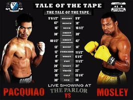 MANNY PACQUIAO vs SHANE MOSLEY viewing party at THE PAR...