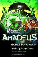 AMADEUS - London Burlesque Party