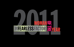 The Fearless Factor Woman of the Year Award 2011