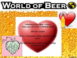 Valentine's Beer School