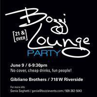 Bozzi Lounge Party at Gibliano Bro's