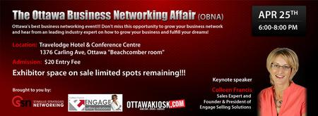 The Ottawa Business Networking Affair- April 2013