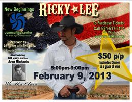 AN EVENING WITH ARON MICHAELS AND RICKY LEE
