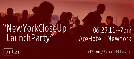 "Art21's ""New York Close Up"" Launch Party"