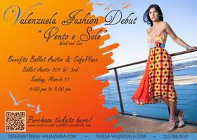 Vento e Sole/Wind and Sun Valenzuela Fashion Launch