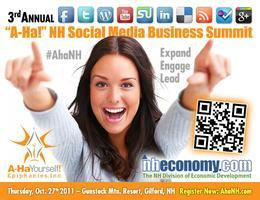 "3rd Annual ""A-Ha!"" NH Social Media Business Summit"